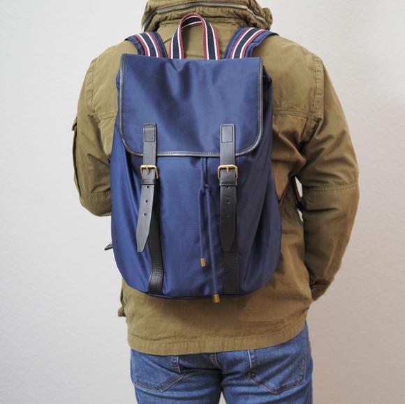 J. Crew Oarstripe Backpack